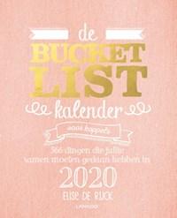 De bucketlistkalender voor koppels 2020   Elise De Rijck  