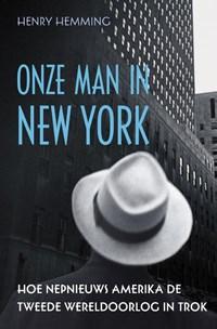 Onze man in New York | Henry Hemming |