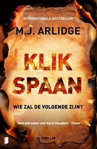 Klikspaan | M.J. Arlidge |