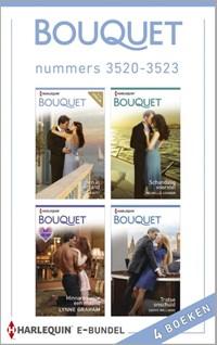 Bouquet e-bundel nummers 3520-3523 (4-in-1)   Kate Hewitt ; Michelle Conder ; Lynne Graham ; Cathy Williams  