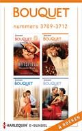 Bouquet e-bundel nummers 3709-3712 (4-in-1)   Susanna Carr ; Caitlin Crews ; Michelle Smart ; Maya Blake  