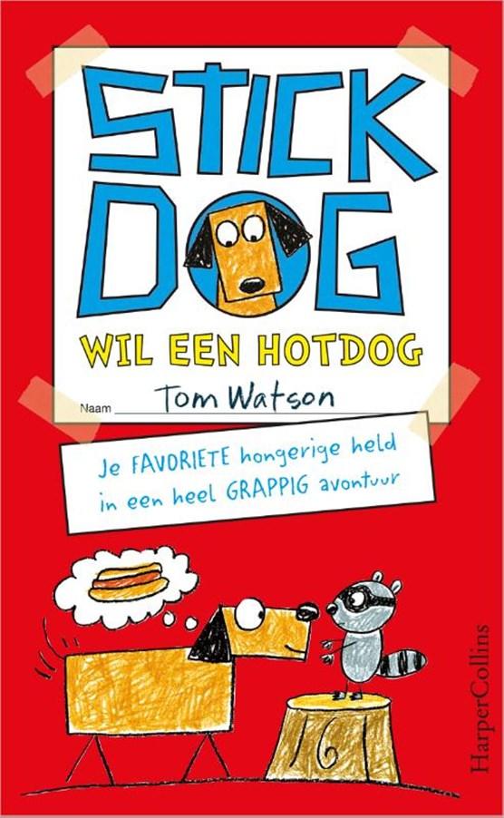 Stick Dog wil een hotdog