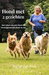 Hond met 2 gezichten   Ingrid Van Dam  