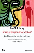 Ik zie scherper door de taal   Jan G. Elburg  