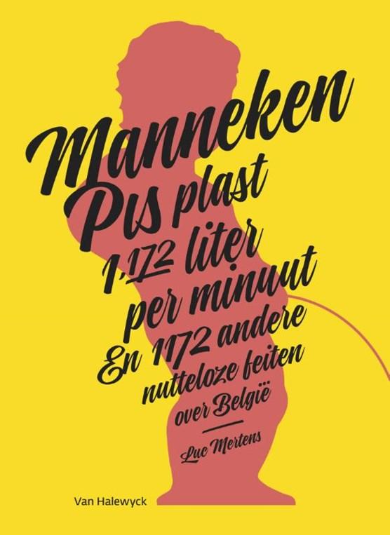 Manneken Pis plast 1.172 liter per minuut