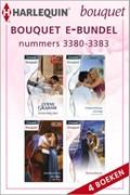 Bouquet e-bundel nummers 3380 - 3383 (4-in-1)   Lynne Graham ; Melissa McClone ; Abby Green ; Maggie Cox  