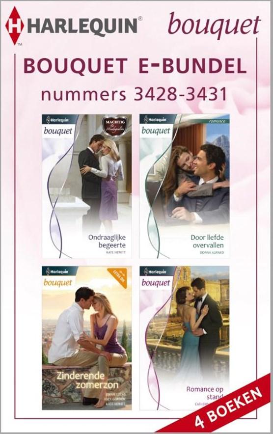 Bouquet e-bundel nummers 3428-3431 (4-in-1)