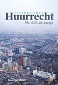 Huurrecht   A.R. de Jonge  