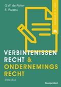 Verbintenissenrecht & ondernemingsrecht | G.W. de Ruiter ; Robert Westra |