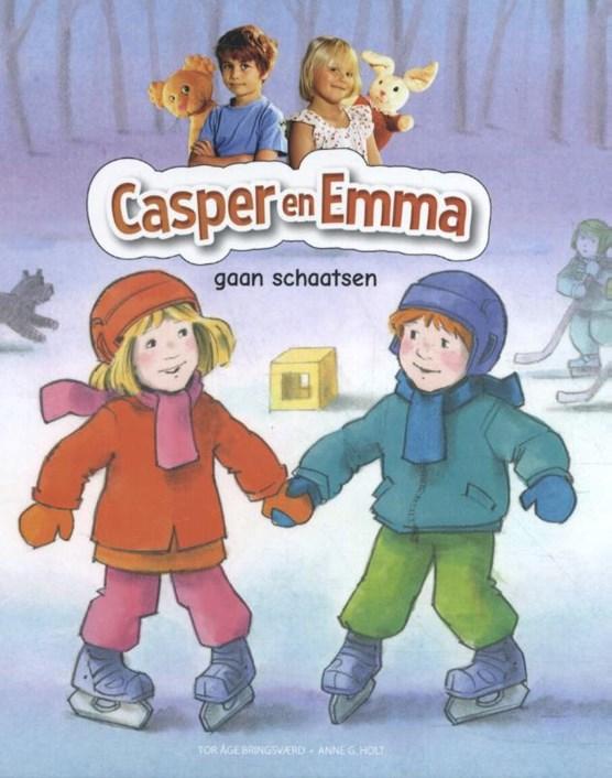 Casper en Emma gaan schaatsen