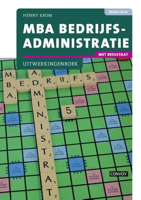 MBA bedrijfsadministratie Uitwerkingenboek