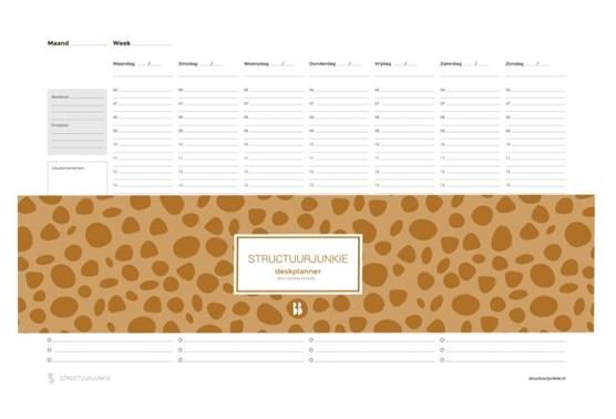 De Structuurjunkie deskplanner