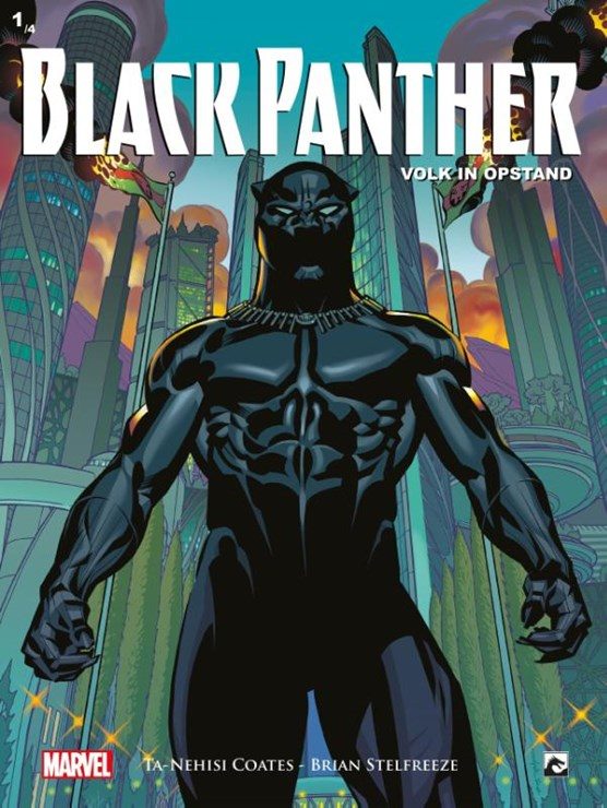 Black panther 01. volk in opstand 1/2