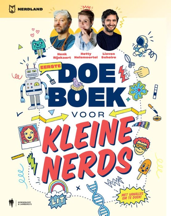 Doeboek voor kleine nerds