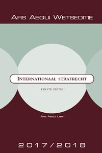 Internationaal strafrecht 2017/2018   Ars Aequi Libri  