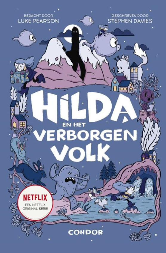 Hilda en het verborgen volk