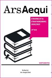 Strafrecht & strafvordering 2020/2021   Ars Aequi Libri  