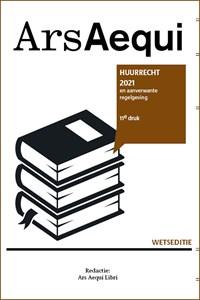 Huurrecht 2021 | Ars Aequi Libri |