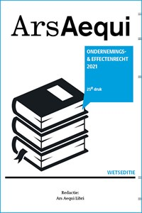 Ondernemings- & effectenrecht 2021 | Ars Aequi Libri |