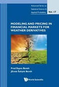 Modeling And Pricing In Financial Markets For Weather Derivatives   Jurate Aealtyte Benth ; Fred Espen Benth  