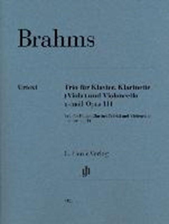 Trio für Klavier, Klarinette (Viola) und Violoncello a-moll op. 114