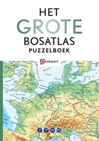 Het Grote Bosatlas puzzelboek   Peter Vroege ; Tjeerd Tichelaar  