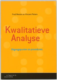 Kwalitatieve analyse   F. Wester ; Veronika Peters  