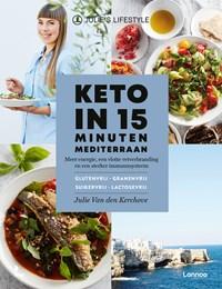 Keto in 15 minuten - Mediterraans   Julie Van den Kerchove  