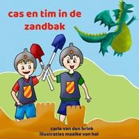 cas en tim in de zandbak | Carla Van den Brink |