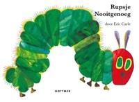 Rupsje Nooitgenoeg reuzen-kartonboek   Eric Carle  