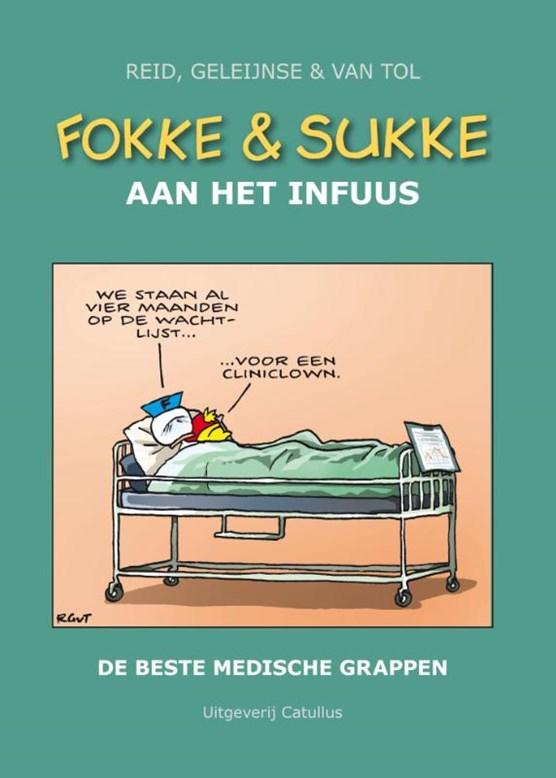 Fokke & Sukke aan het infuus