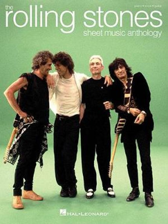 The Rolling Stones Sheet Music Anthology (Piano/Vocals/Guitar Book)
