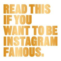 Read this if you want to be instagram famous | Henry Carroll |