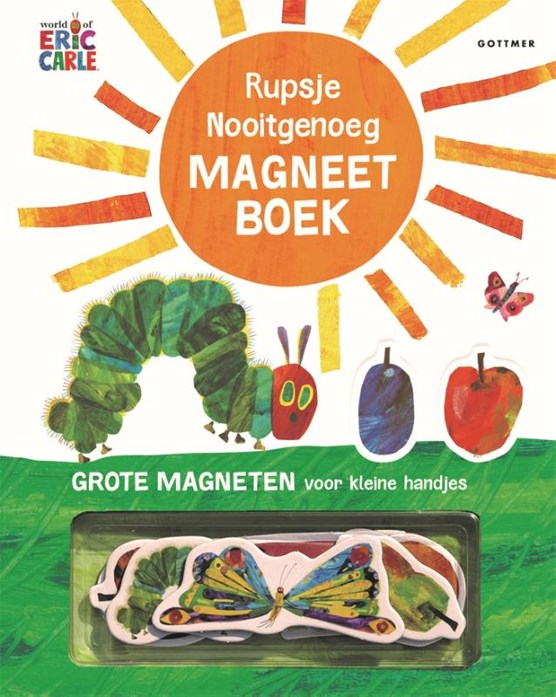 Rupsje Nooitgenoeg magneetboek