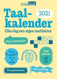 Onze Taal Taalkalender 2021   Genootschap Onze Taal  