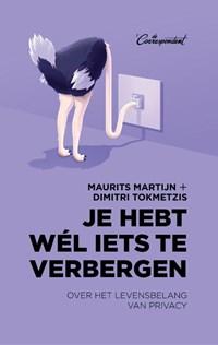 Je hebt wél iets te verbergen   Maurits Martijn ; Dimitri Tokmetzis  