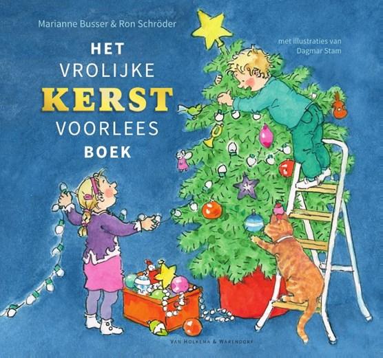 Het vrolijke kerstvoorleesboek