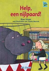 Help, een nijlpaard | Rian Visser |