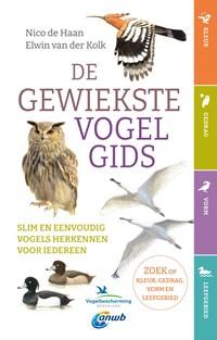 De gewiekste vogelgids | Nico de Haan ; Elwin van der Kolk |