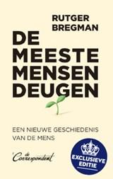 De meeste mensen deugen - Scheltema's Boek van het Jaar | Rutger Bregman | 2000000006468