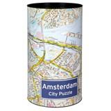 Amsterdam City Puzzle - legpuzzel 500 stuks - afmetingen 48 x 36cm | auteur onbekend | 4260153694075