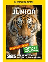 Scheurkalender National Geographic junior 2021   auteur onbekend   8715257200753