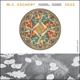 M.C. Escher maandkalender 2022   auteur onbekend   8716951332870