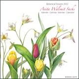 Botanical Flowers, Anita Walsmit Sachs maandkalender 2022   auteur onbekend   8716951332948