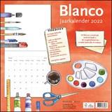 Blanco maandkalender 2022   auteur onbekend   8716951333037