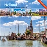 Holland maandkalender 2022   auteur onbekend   8716951333044
