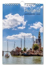 Holland weekkalender 2022   auteur onbekend   8716951333259