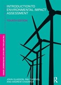 Introduction To Environmental Impact Assessment   John Glasson ; Riki Therivel ; Andrew Chadwick  