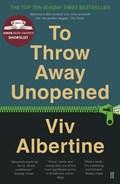 To Throw Away Unopened   Viv Albertine  