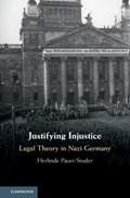 Justifying Injustice | Herlinde Pauer-Studer |
